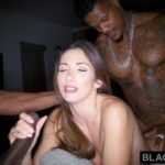 BLACKEDRAW French Woman Secret Hook Up With Two BBCs