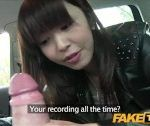 FakeTaxi Scorching Asian babe banged in taxi