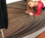 Gamer Stepsister Creampied Whereas Taking part in