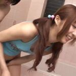 Cute and Sassy Japanese Model Kotone with Cream in her Hairy Muff