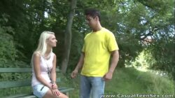 Casual Teen Sex – Blonde teeny Treza fucked after breakup