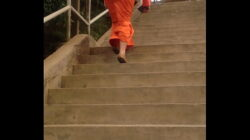 Malay lady's arse going up stairs 2/2